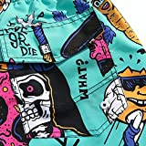 Mens Ultra Quick Dry Punk Vintage Fashion Board