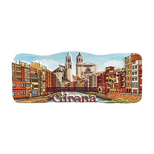 Girona España Refrigerador 3D Imán de Nevera Recuerdos Turísticos ...