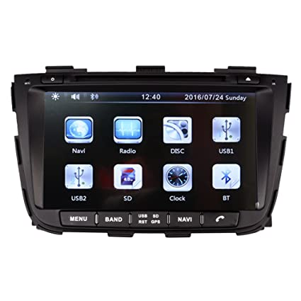 8 Inch Touch Screen Car GPS Navigation for KIA SORENTO 2013-2016 Stereo DVD Player