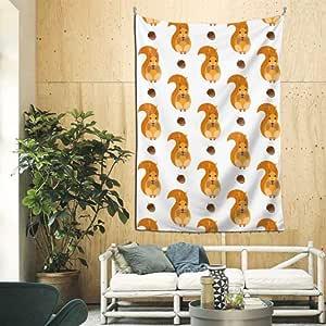 Amazon.com: QiyI 60x90 Inches Bathroom Tapestry Cute