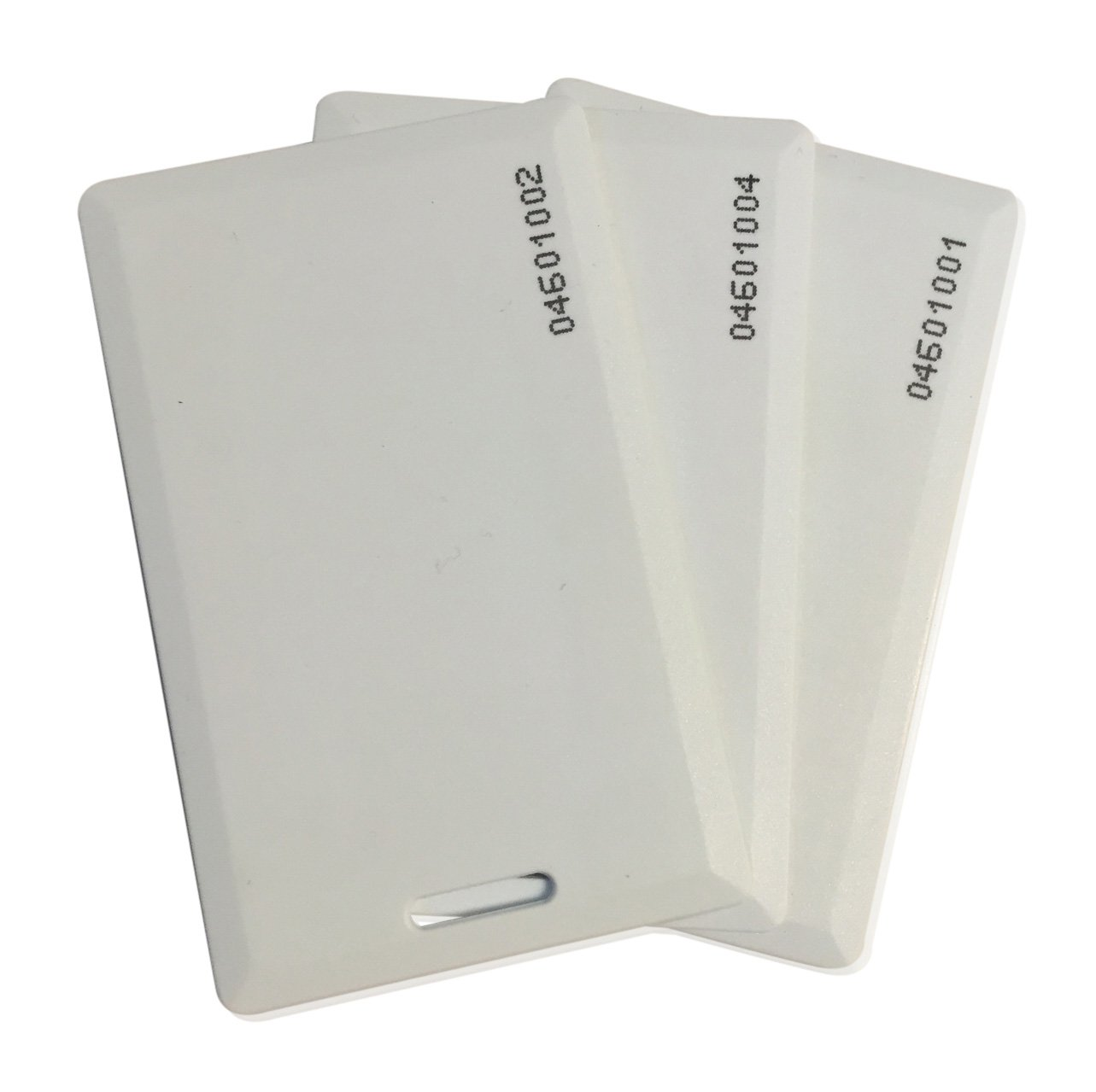 200 pcs 26 Bit Proximity Clamshell Weigand Prox Swipe Cards Compatable with ISOProx 1386 1326 H10301 format readers and systems. Works with the vast majority of access control systems
