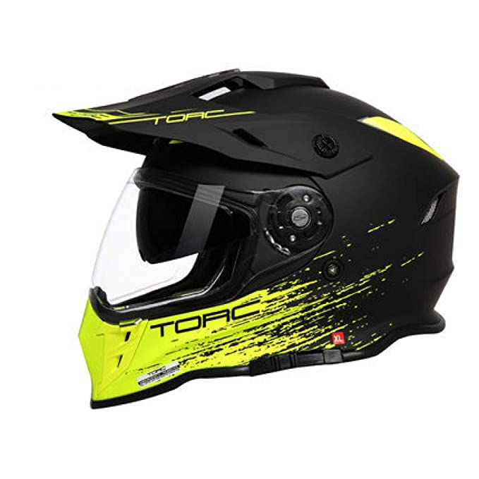 Casco Motocross Enduro Multifuncional Carretera Off-Road Casco De Rally De Doble Uso Casco De Rally De Doble Lente: Amazon.es: Ropa y accesorios