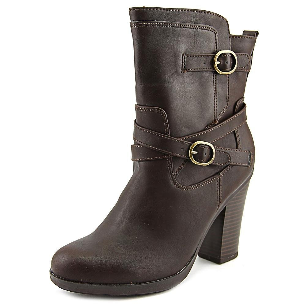 Style & Co. Womens Ameliya Round Toe Ankle Fashion Boots, Brown, Size 10.0