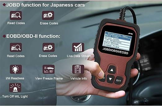 QCZDQSMY Automotor Escáner De Diagnóstico del Coche para Toyota ...