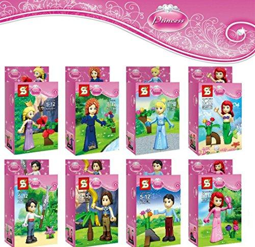 NW 2016 New SY156 Building Blocks Princess Girl Friends MinifiguresStephanie/Mia/Emma/Olivia/Andrea Toys(Without Original Box)