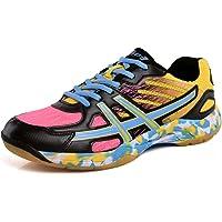 Mengxx Chaussures de Badminton Légères Baskets Antidérapantes Respirantes Chaussures de Sport Confortables
