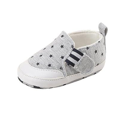 c371d4c732000 Bonjouree Chaussures Premiers Pas Bébé Garçon Sneakers Souples  Anti-dérapantes (11CM   0-