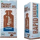 Fast&Up Vegan Sports Energy Gel - 30 g (Chocolate, Pack of 5)