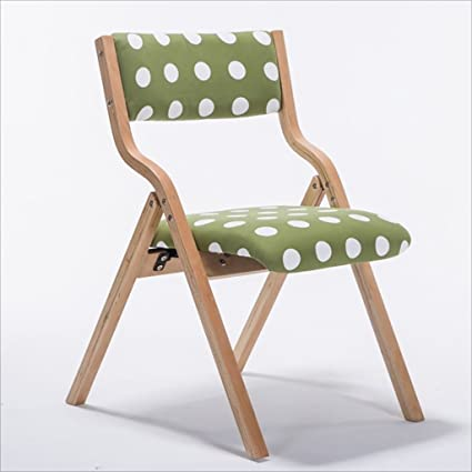 Genial Fold Up Chairs Home Simple Portable Solid Wood Folding Dining Chair, Simple  Folding Back Computer