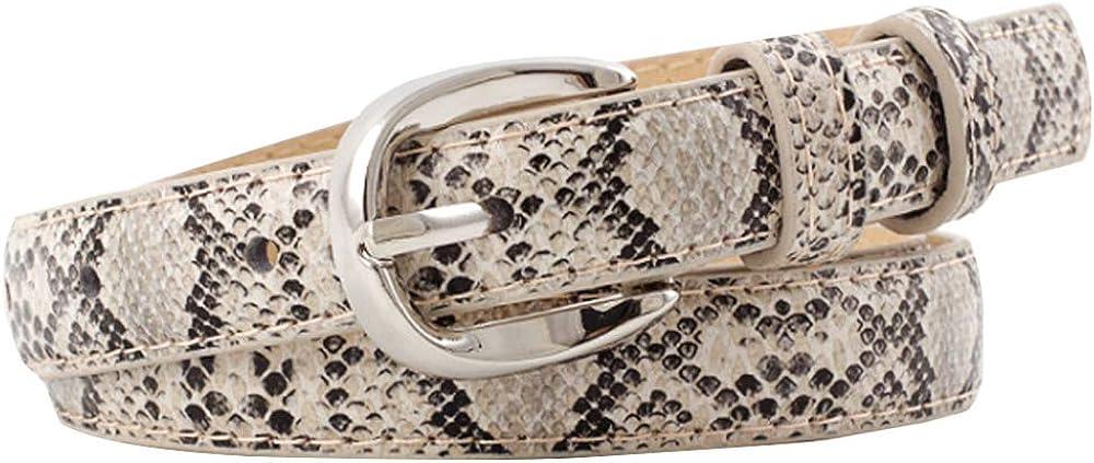 CLARA Women Snakeskin Print...