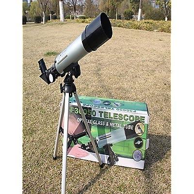 PIGE Phénix 48x 50mm mm Télescopes 360mm.f / 7 Astronomical Telescope Argent