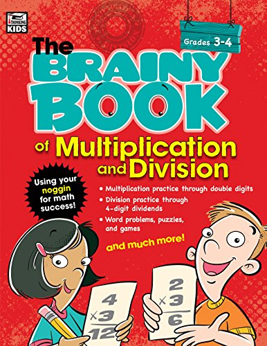 Brainy Book of Multiplication and Division (Brainy Books)