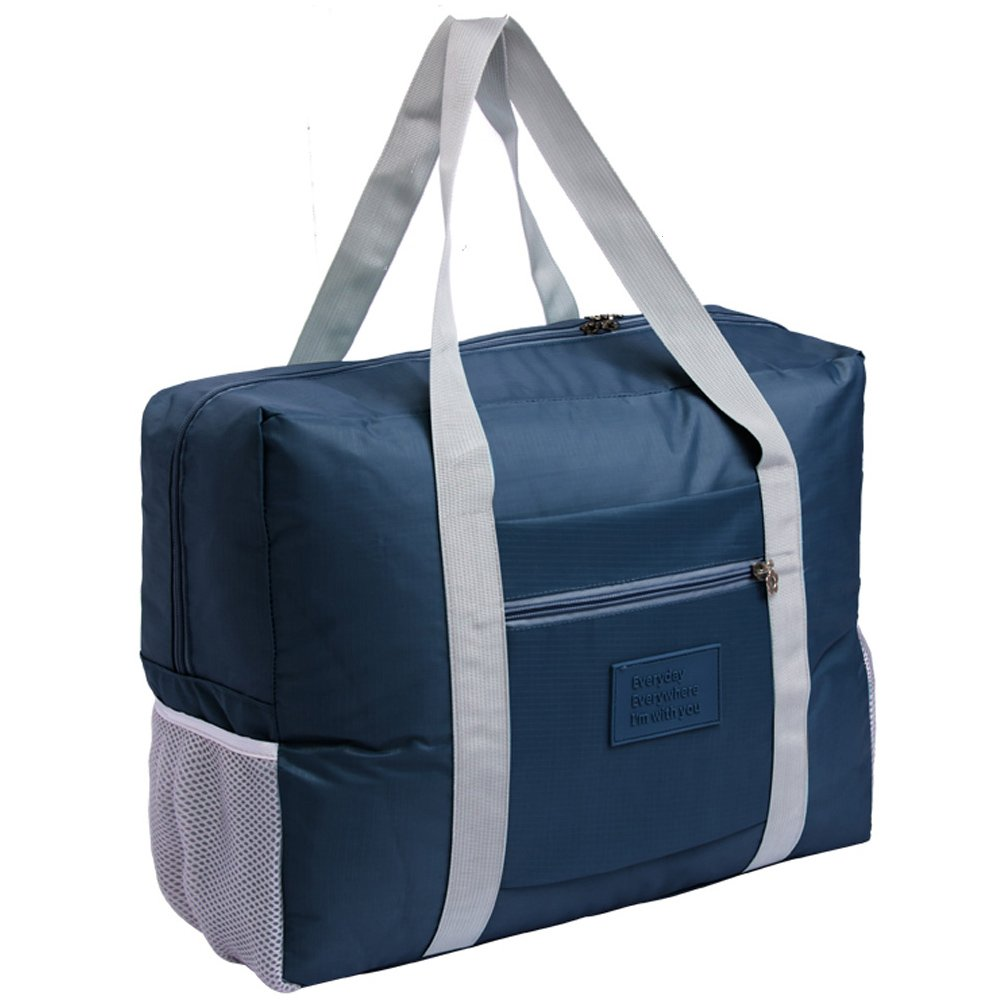 Foldable Travel Bag Tote Lightweight Waterproof Duffel Bag Carry Storage Luggage Portable Folding Bag by VAQM