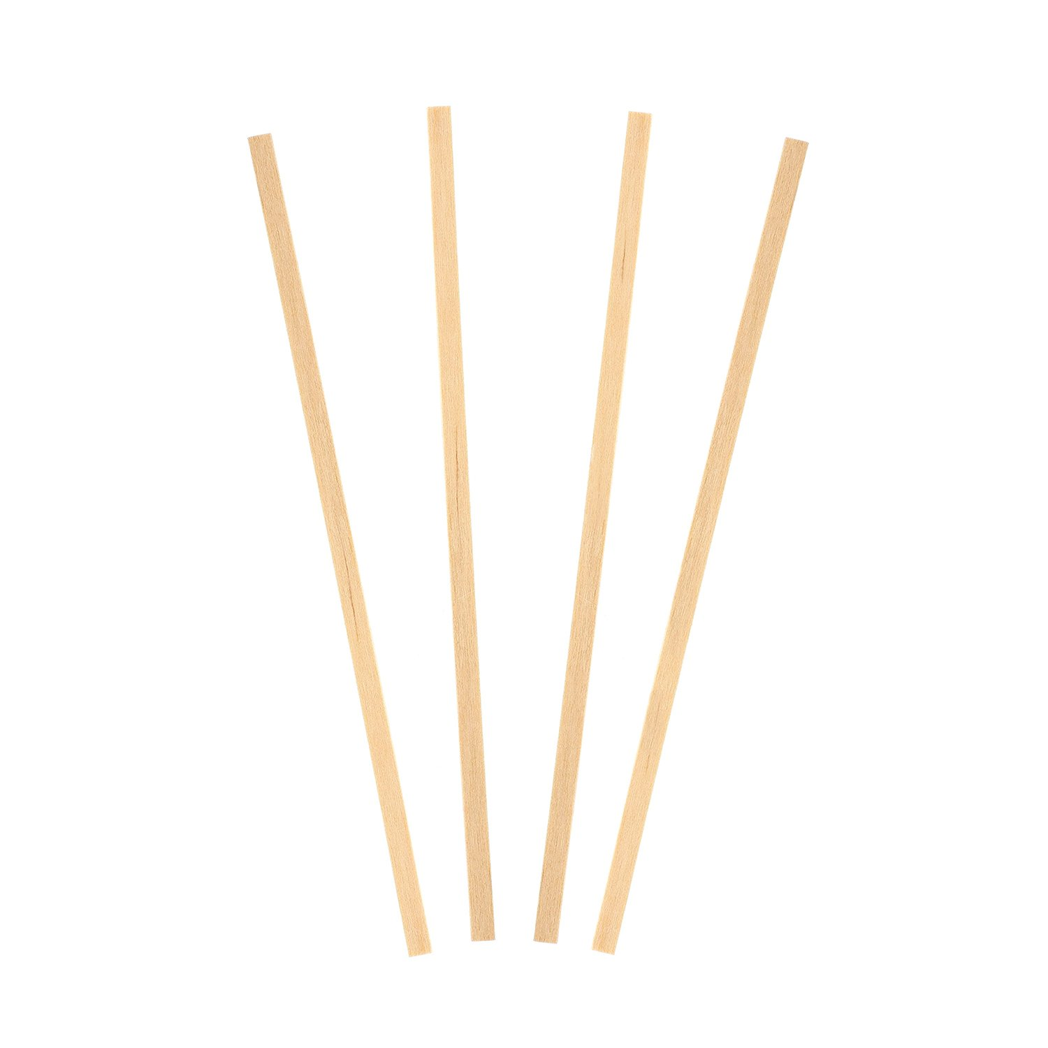 Royal 1000 Count Wood Coffee Beverage Stirrers, 5.5''