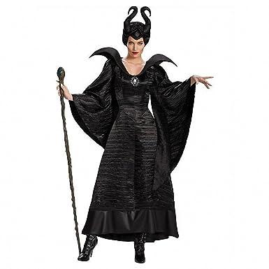 Ytwysj - Disfraz de Reina de Bruja maléfica Sexy para Mujer (3 ...