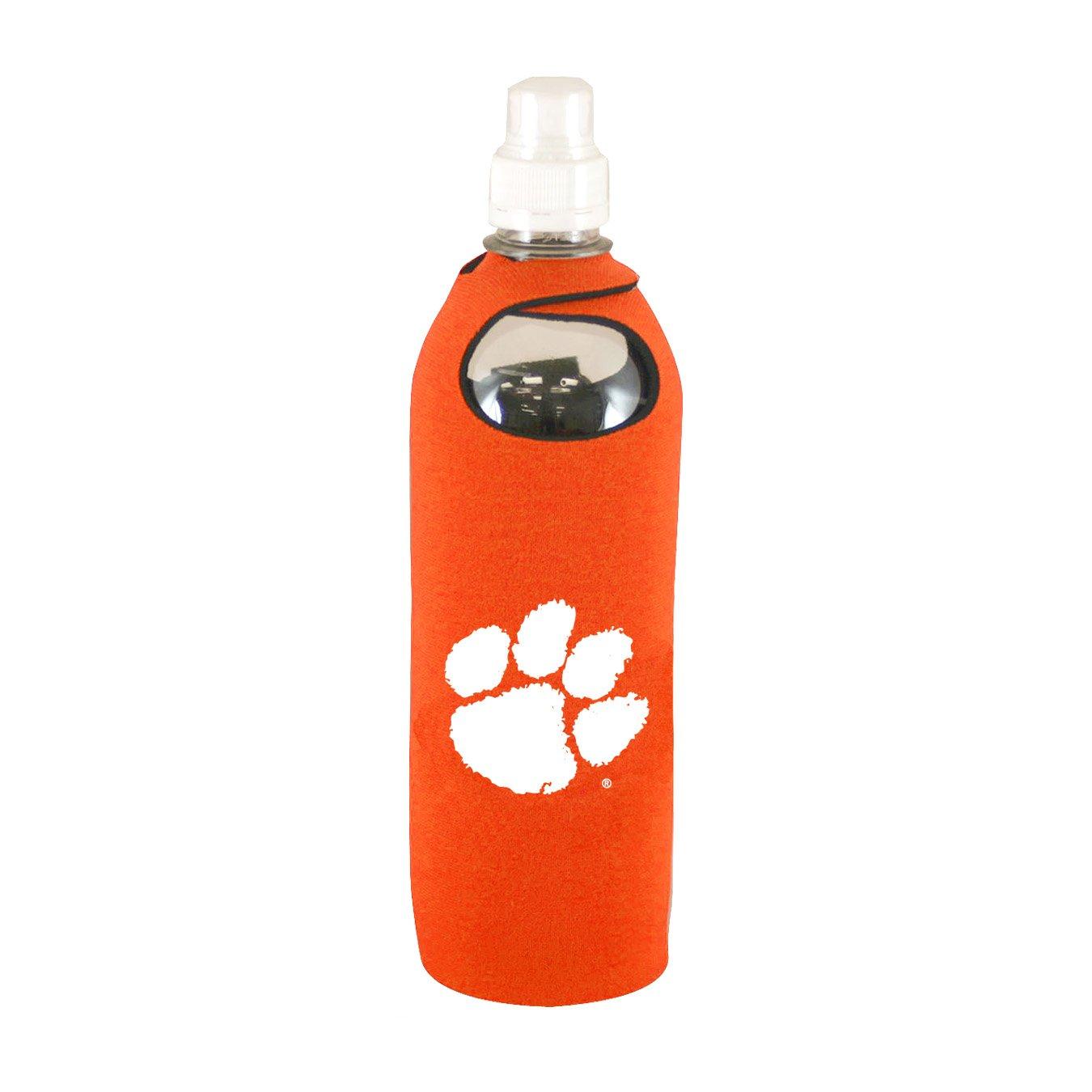 Clemson Tigers 1/2 Liter Water Soda Bottle Koozie Holder Cooler with Clip University of Kolder