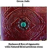 Doctor Strange Eye of Agamotto Embossed Handmade