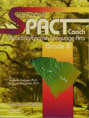 Read Online South Carolina PACT Coach. Reading/English Language Arts. Grade 8. pdf epub
