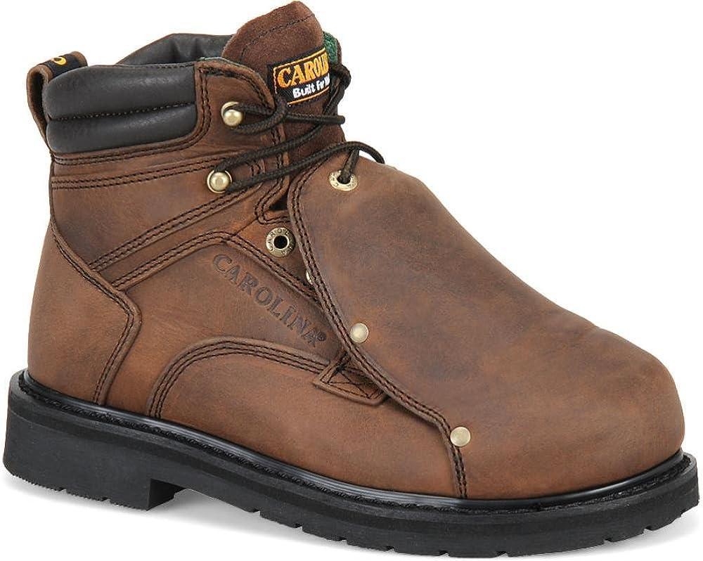 Carolina Boots Shoes Men Hi Met Guard Steel Toe Made in USA Boots 505