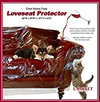 LAMINET Crystal Clear Furniture Protectors - Slipcovers & Elastic Covers