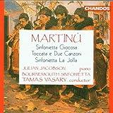 Martinu: Sinfonietta Giocosa / Toccata e Due Canzoni / Sinfonietta La Jolla - Julian Jacobson / Bournemouth Sinfonietta / Tamas Vasary