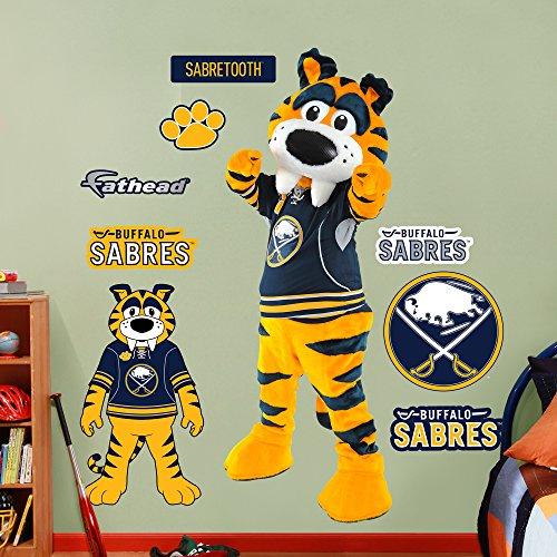NHL Buffalo Sabres Mascot-Sabertooth Wall Decal