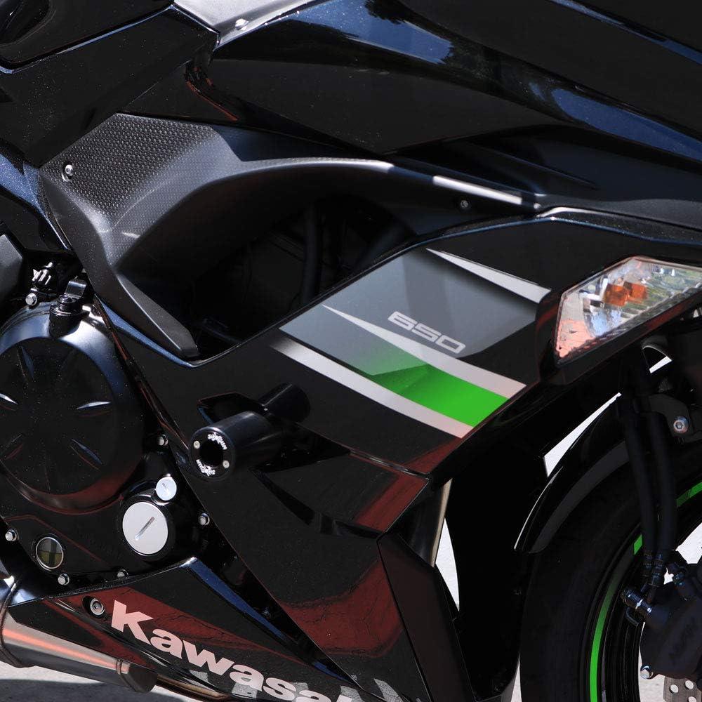 Amazon.com: 2017 – 2018 Kawasaki Ninja 650, Z650 Protectores ...