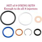 03-10 6.0L/4.5L Ford Power Stroke * G2.8 Injector Seal Kit * (Set of 8) # AP0002