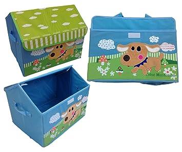 GMMH Caja para Guardar Juguetes con Forma de caseta para Perros de 42 cm x 31 cm x 34 cm: Amazon.es: Juguetes y juegos