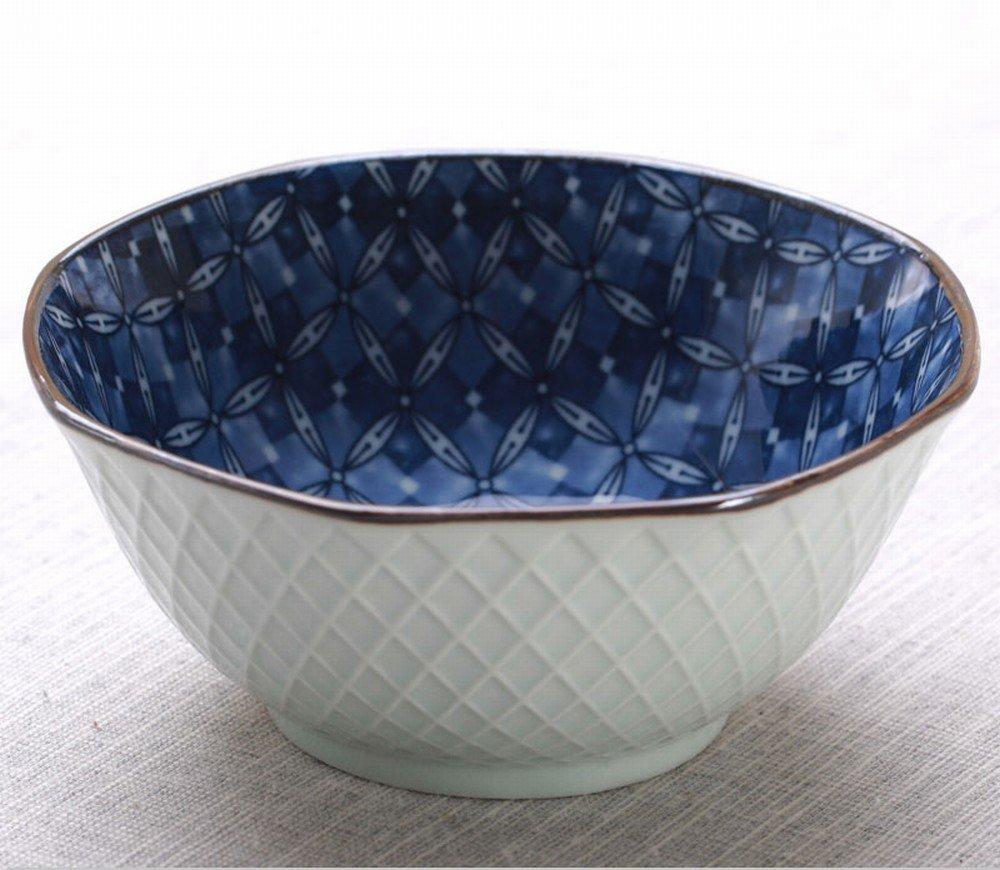 negozio online STTS STTS STTS Set Di Posate da Cucina in Ceramica Giapponese 10 Ciotola Di Riso Ciotola da 5 Pollici,D,12.7cm  supporto al dettaglio all'ingrosso