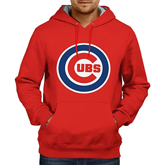 online retailer d6b65 36304 Fashion And Youth Chicago Cubs 2 Hoodie Red | Mens Hoodies ...
