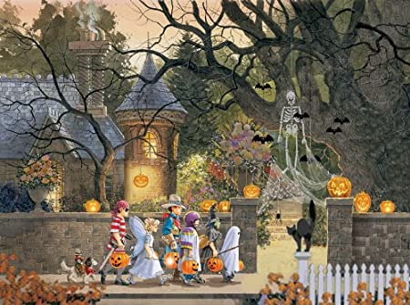 SunsOut - Doug Laird - Friends On Halloween - Jigsaw Puzzle - 1000 Pc