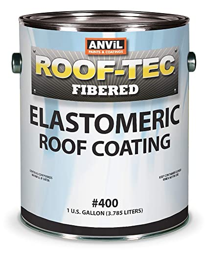 anvil 400 mobile home rv roof coating 4 gallon - Mobile Home Roof Coating