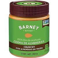 Barney Butter Crema de Almendras Crujiente, 284 g
