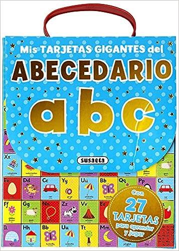 Mis tarjetas gigantes del abecedario, abc: Amazon.es: Equipo ...