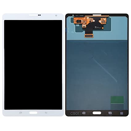 T705 BIANCO DISPLAY LCD SCHERMO TOUCH SCREEN Samsung Galaxy Tab S 8.4 LTE
