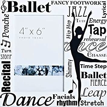 Amazon.com - Ballet Collection 8 by 8-Inch Roman Exclusive All Dance ...