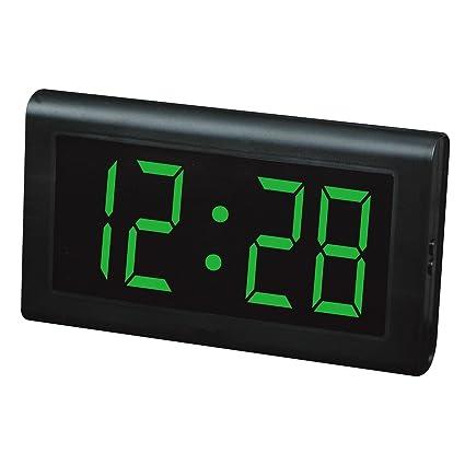 Relojes LED Reloj de mesa, Reloj de pared LED, Números grandes Relojes digitales de