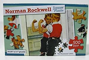 Amazon.com: Norman Rockwell 500 Pieces Jigsaw Puzzle The