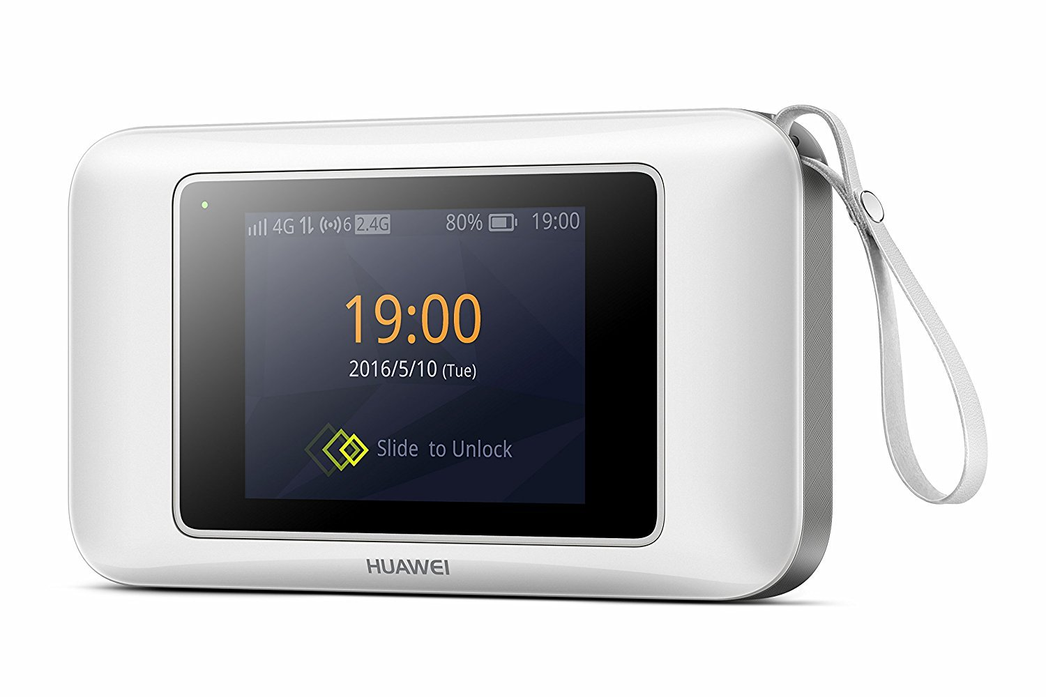 Huawei E5787s-33a 300 Mbps 4G LTE & 43.2 Mpbs 3G Mobile WiFi (4G LTE in Europe, Asia, Middle East, Africa & 3G globally) (White) by Huawei