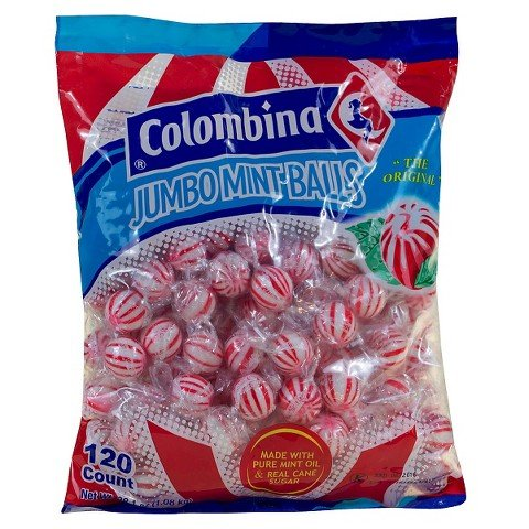 - Peppermint Balls - Jumbo Mint Balls by Colombia