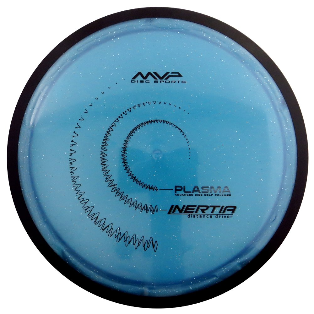 MVP Disc Sports Plasma Inertia Distance Driver Golf Disc [Colors May Vary] - 150-159g