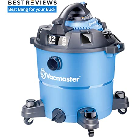 Vacmaster 2-in-1 Wet Dry Blower Vac, 12 Gallon, 5 HP