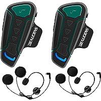 Intercomunicador Casco Moto Bluetooth, BEAUDENS Comunicación Intercom, Gama