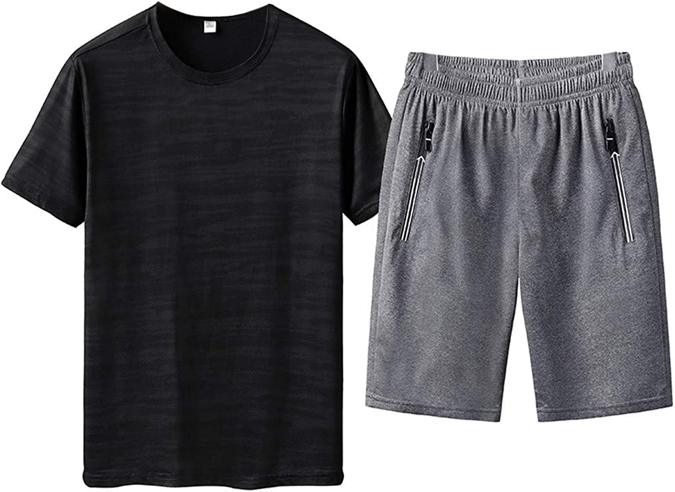 Camiseta para Hombre, Verano Manga Corta Pantalones Cortos ...