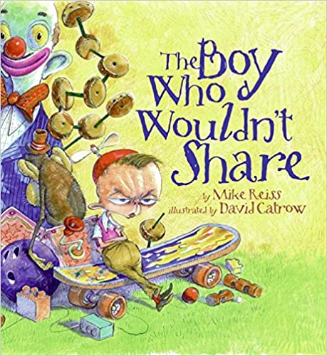 Read The Boy Who Wouldn't Share PDF