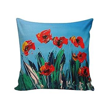 Queen Area Square Pillowcases for Mens Women Girls Boys Luxury Soft Throw  Cushion Cover Pillow Sham 17ae9a4804