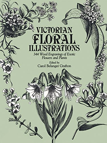 Victorian Floral Illustrations: 344 Wood Engravings of Exotic Flowers and Plants (Dover Pictorial Archive) ()