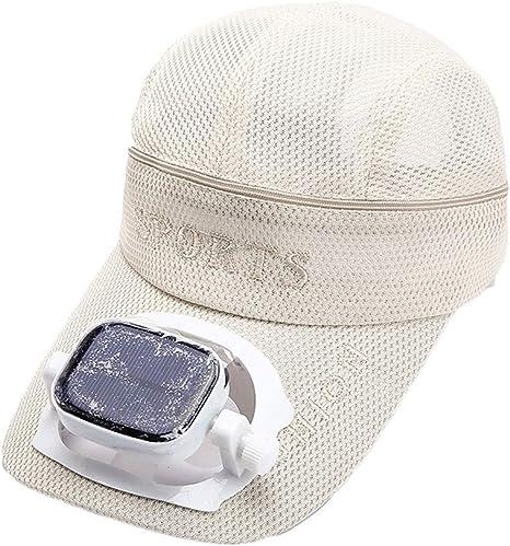 Sombrero de Ventilador Solar Adulto con Sombrero de Ventilador ...
