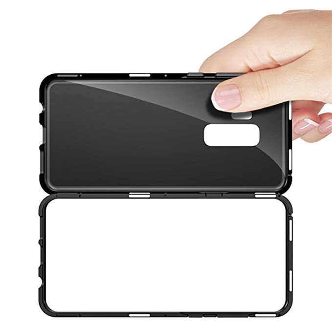 big sale 37ed6 26d05 Amazon.com: Metal Magnetic Adsorption Case For Samsung S7 Edge ...